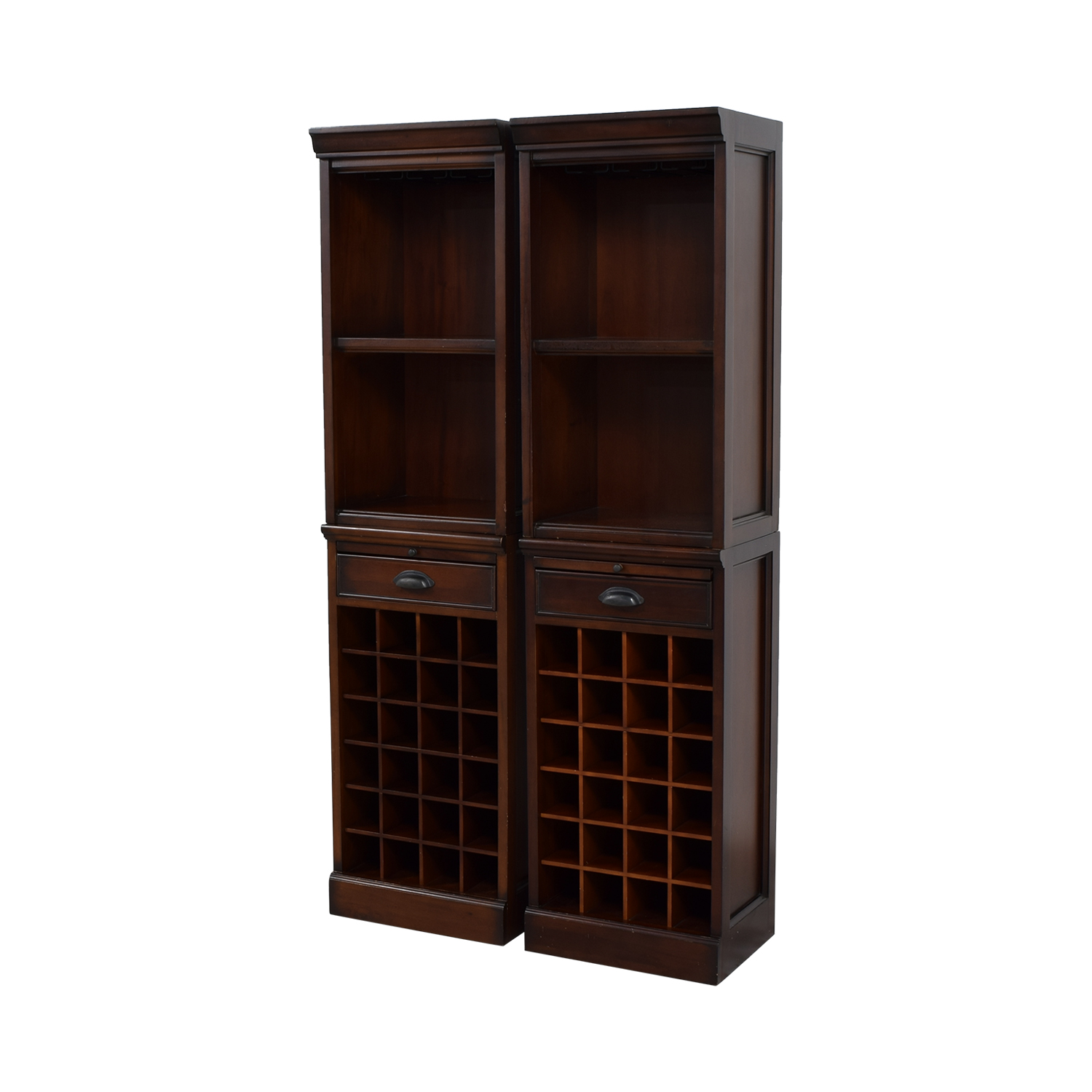 44 Off Pottery Barn Pottery Barn Modular Wine Towers Storage