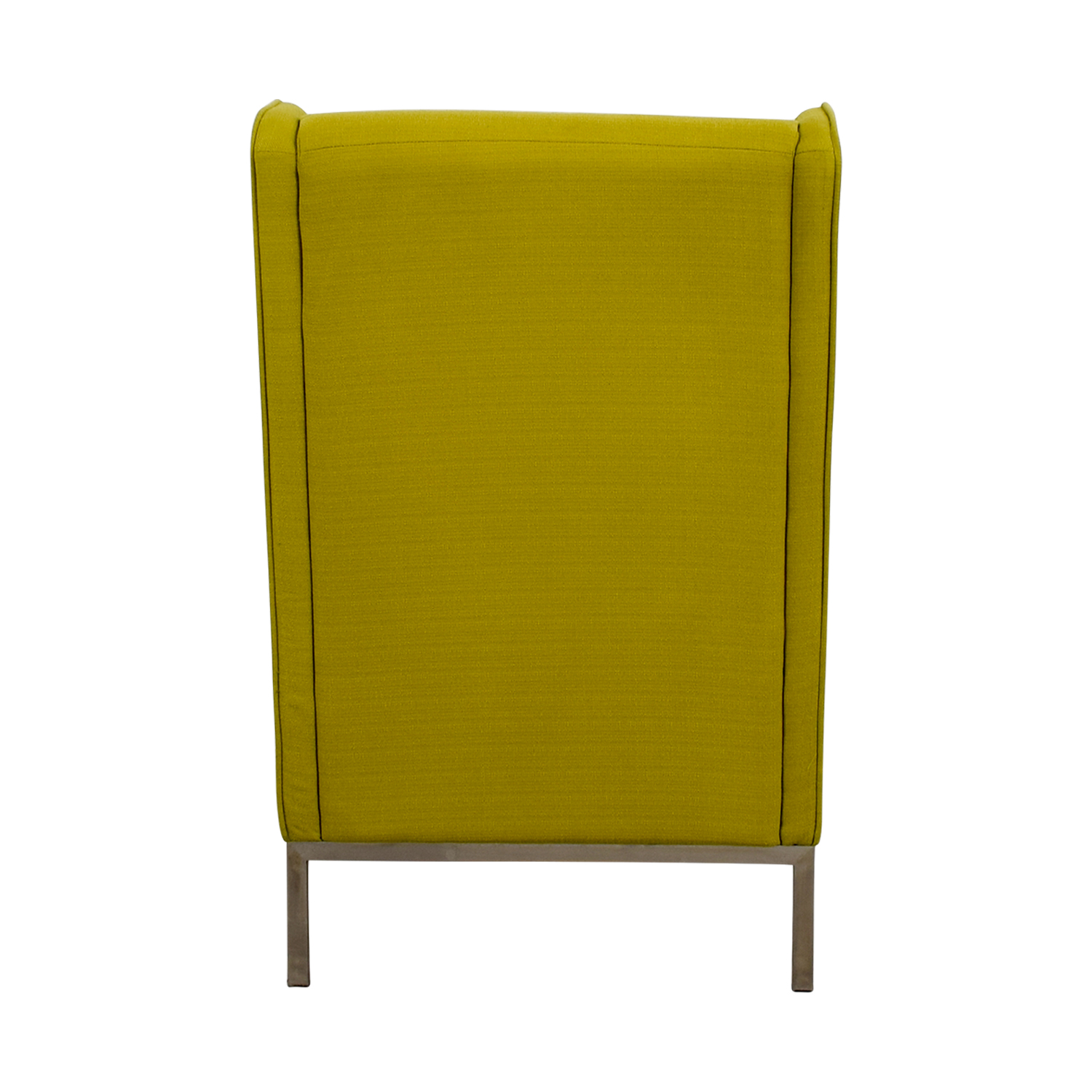 Crate and Barrel Neon Green Accent Chair Crate and Barrel