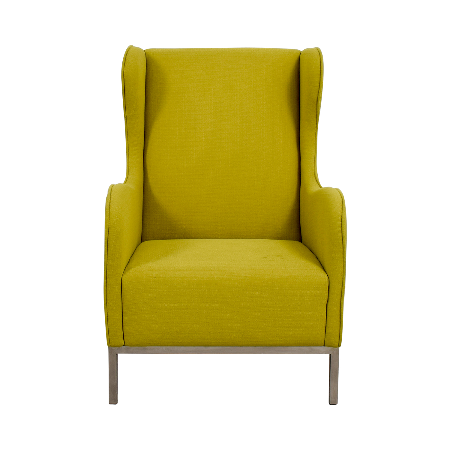 Crate and Barrel Crate and Barrel Neon Green Accent Chair Chairs