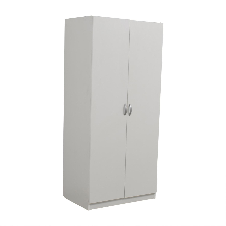 Contempo Spaces Contempo Spaces White Wardrobe Wardrobes & Armoires