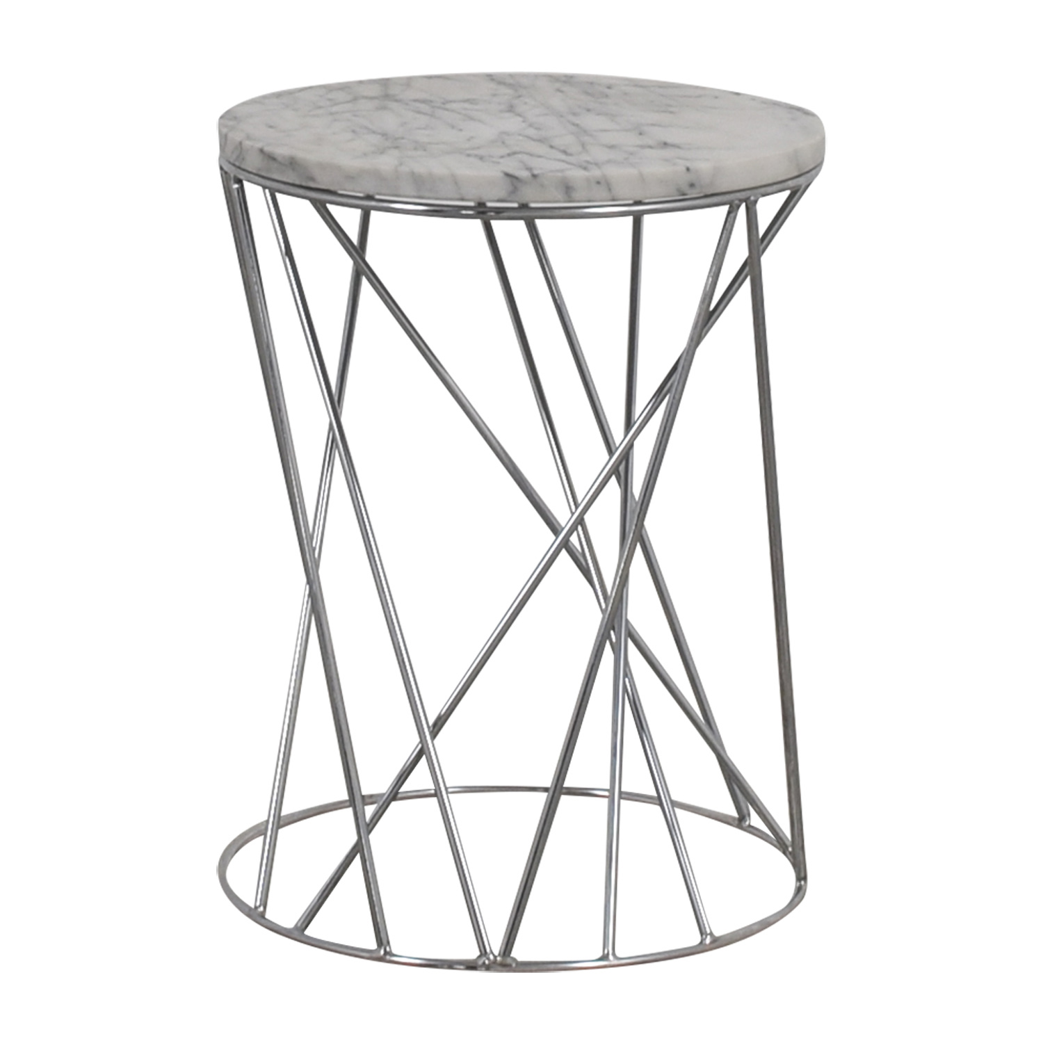 West Elm West Elm Carera Marble Side Table coupon