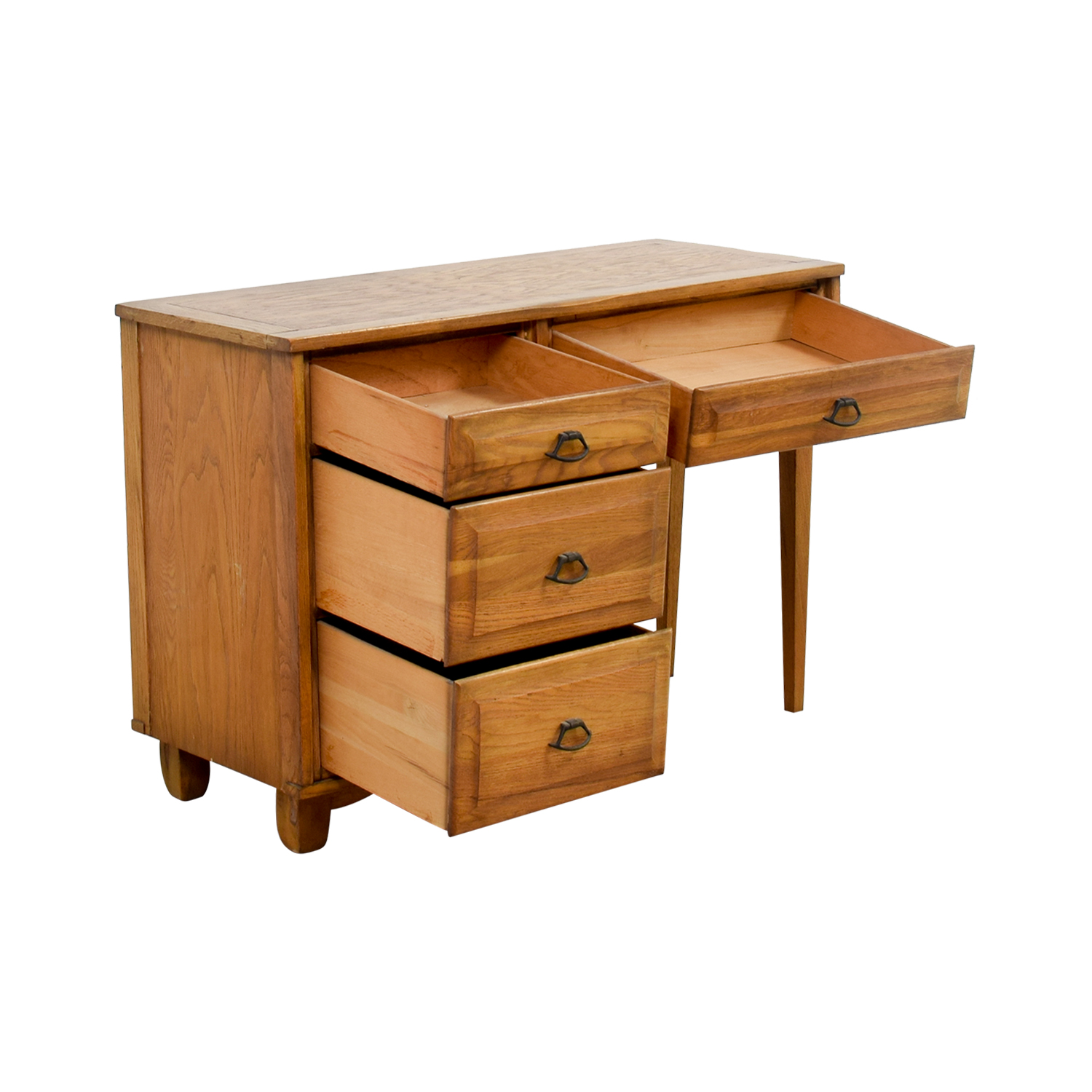 Vintage Oak Desk with Chair price