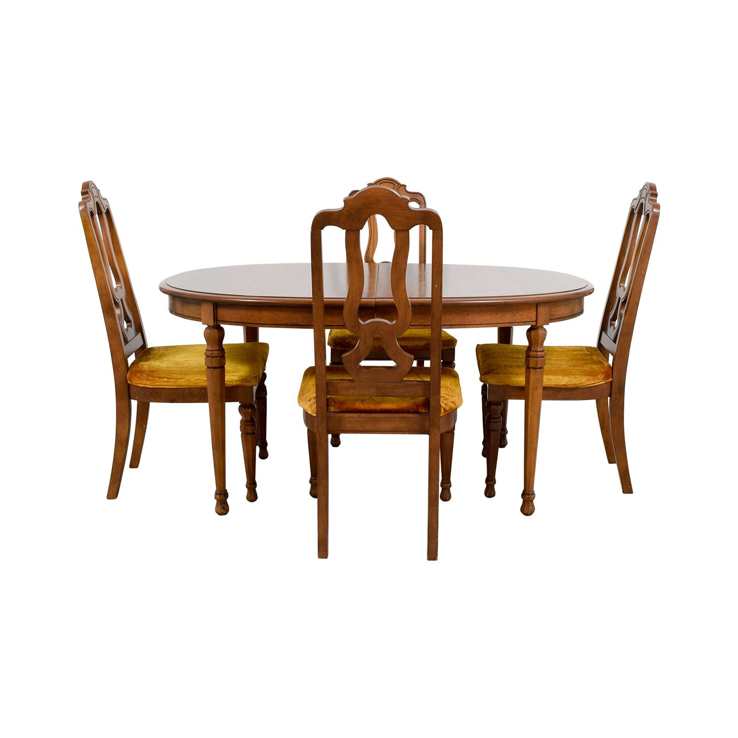 Bernhardt Bernhardt Vintage Dining Set with Extension Leaf and Chairs price