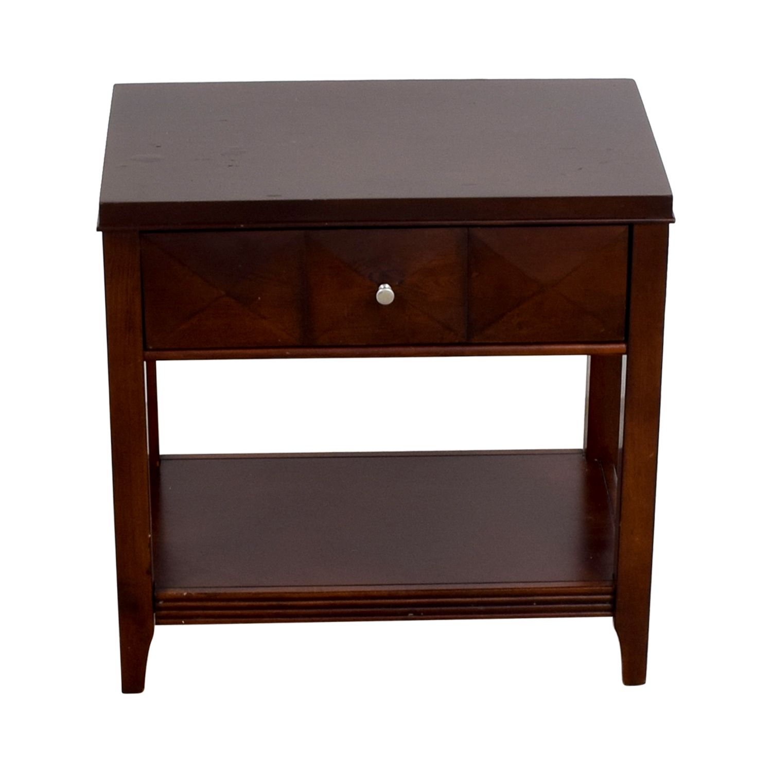 Raymour & Flanigan Raymour & Flanigan Espresso Single-Drawer Nightstand
