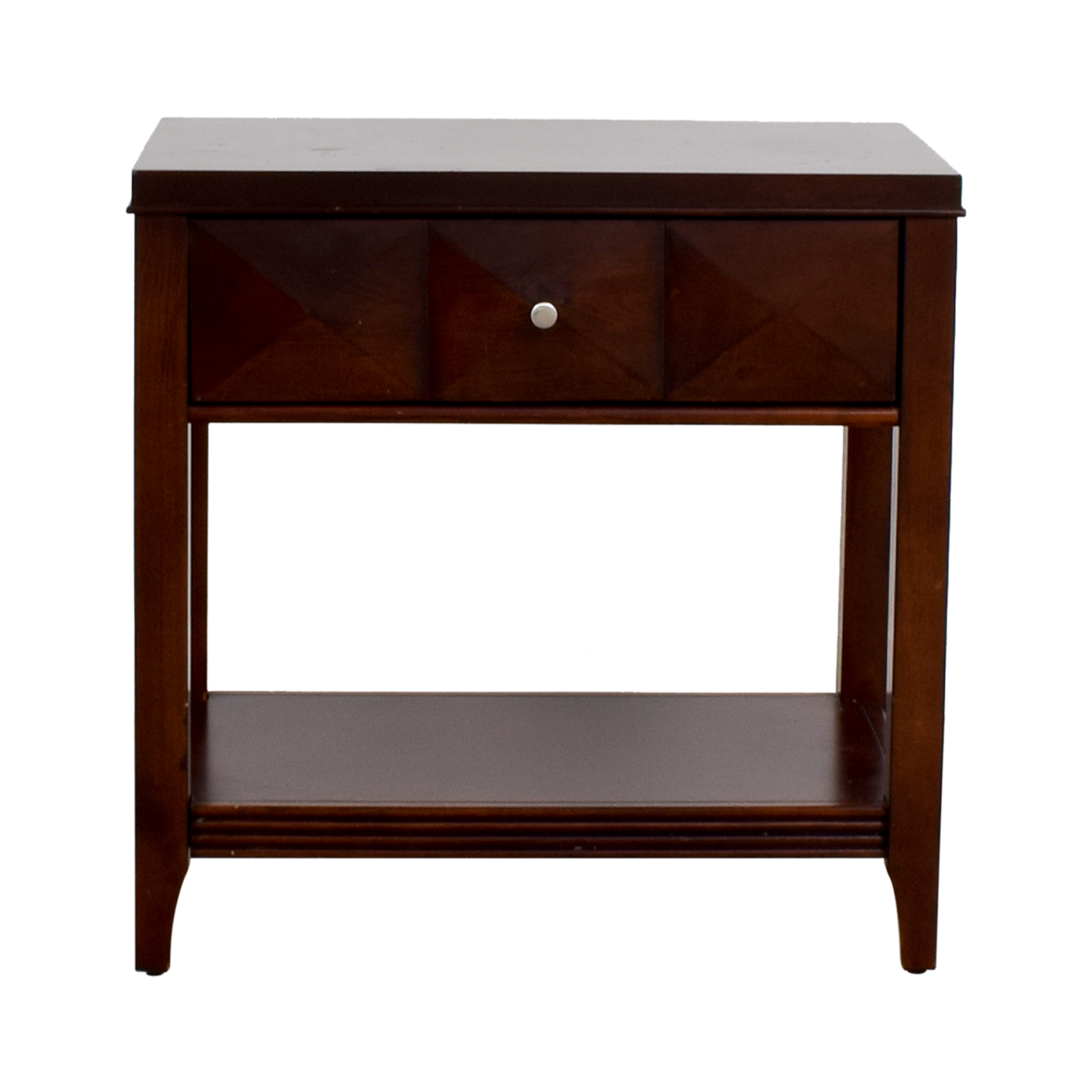 Raymour & Flanigan Raymour & Flanigan Espresso Single-Drawer Nightstand coupon