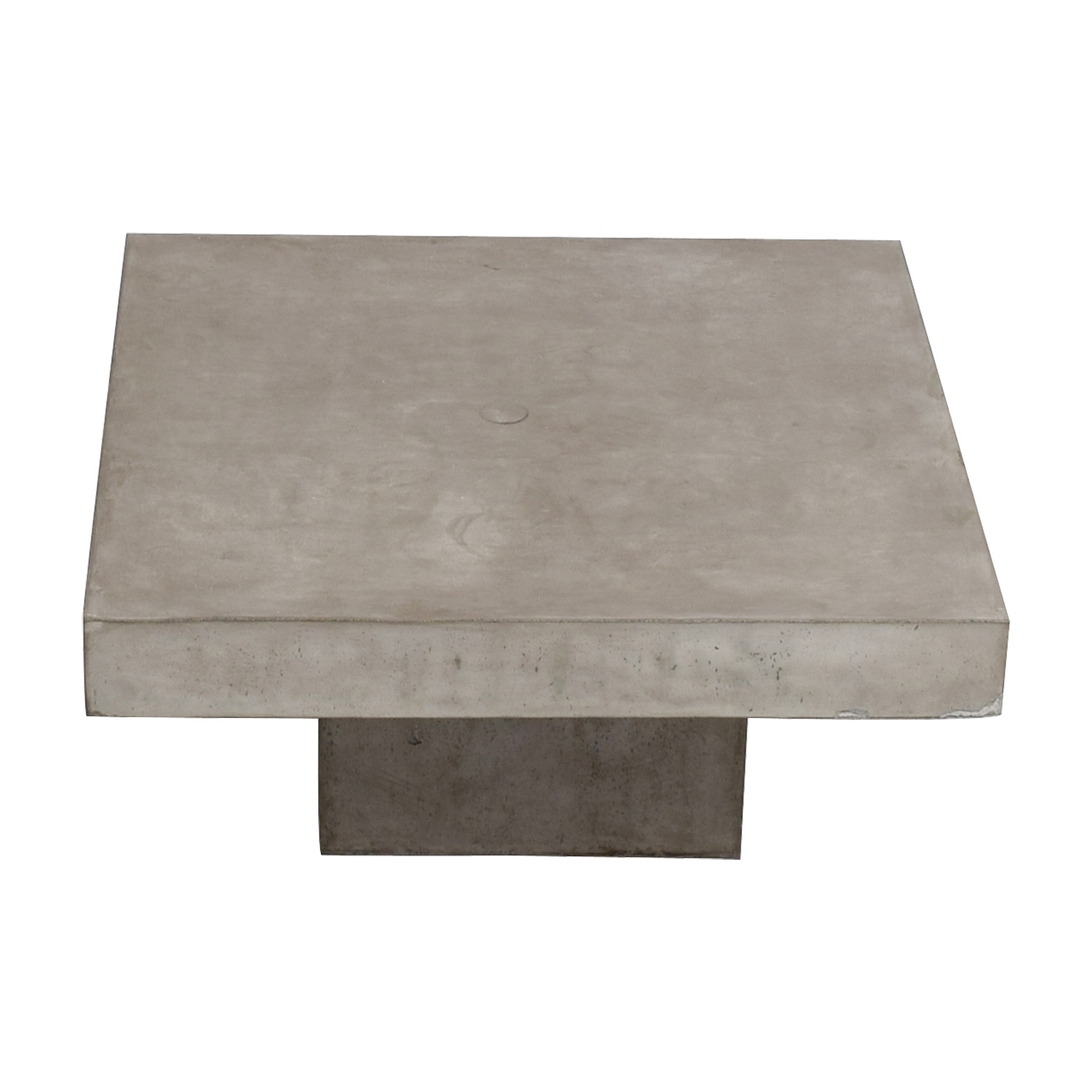 CB2 CB2 Concrete Coffee Table grey
