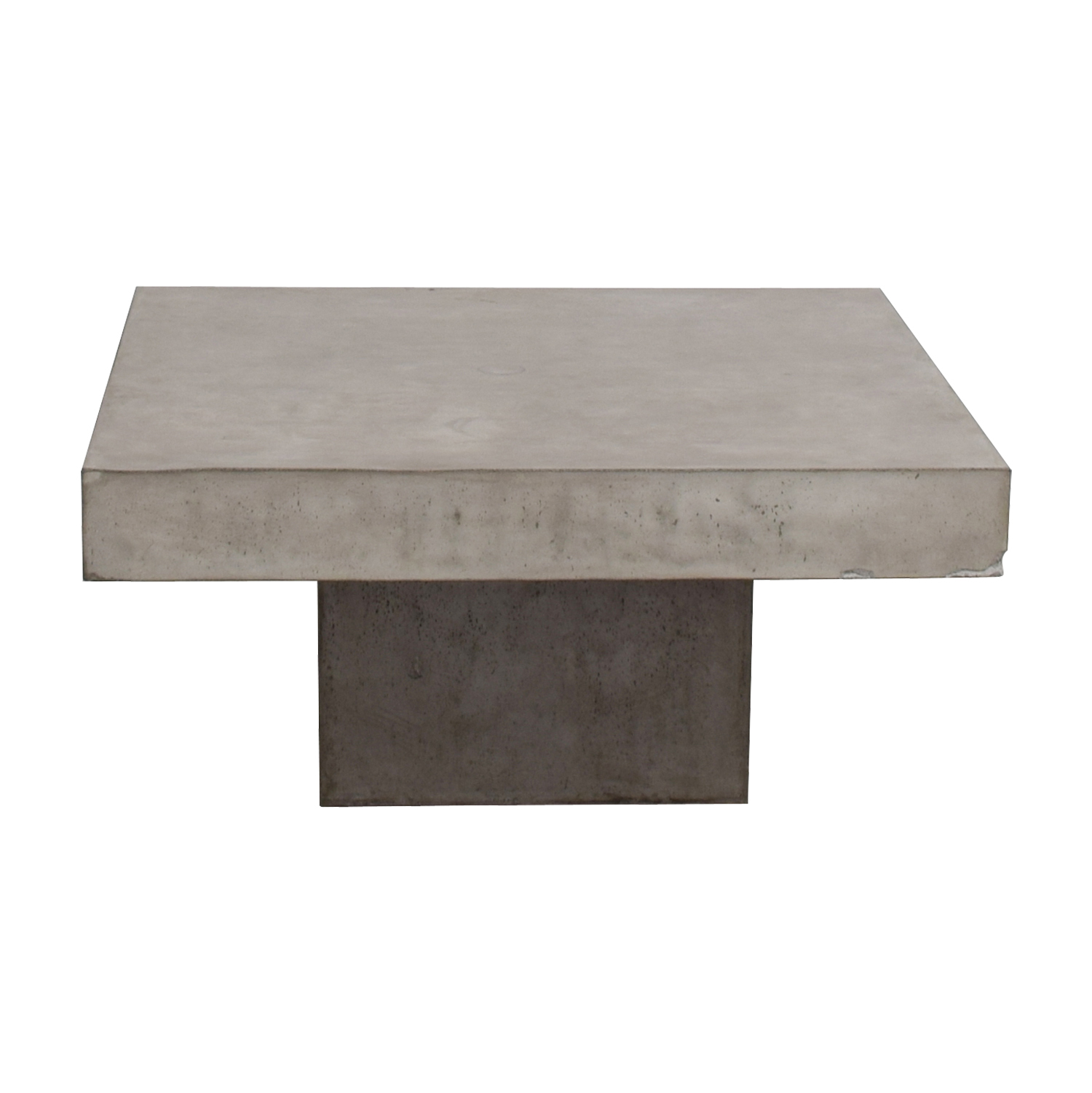 OFF CB CB Concrete Coffee Table Tables - Cb2 cement table