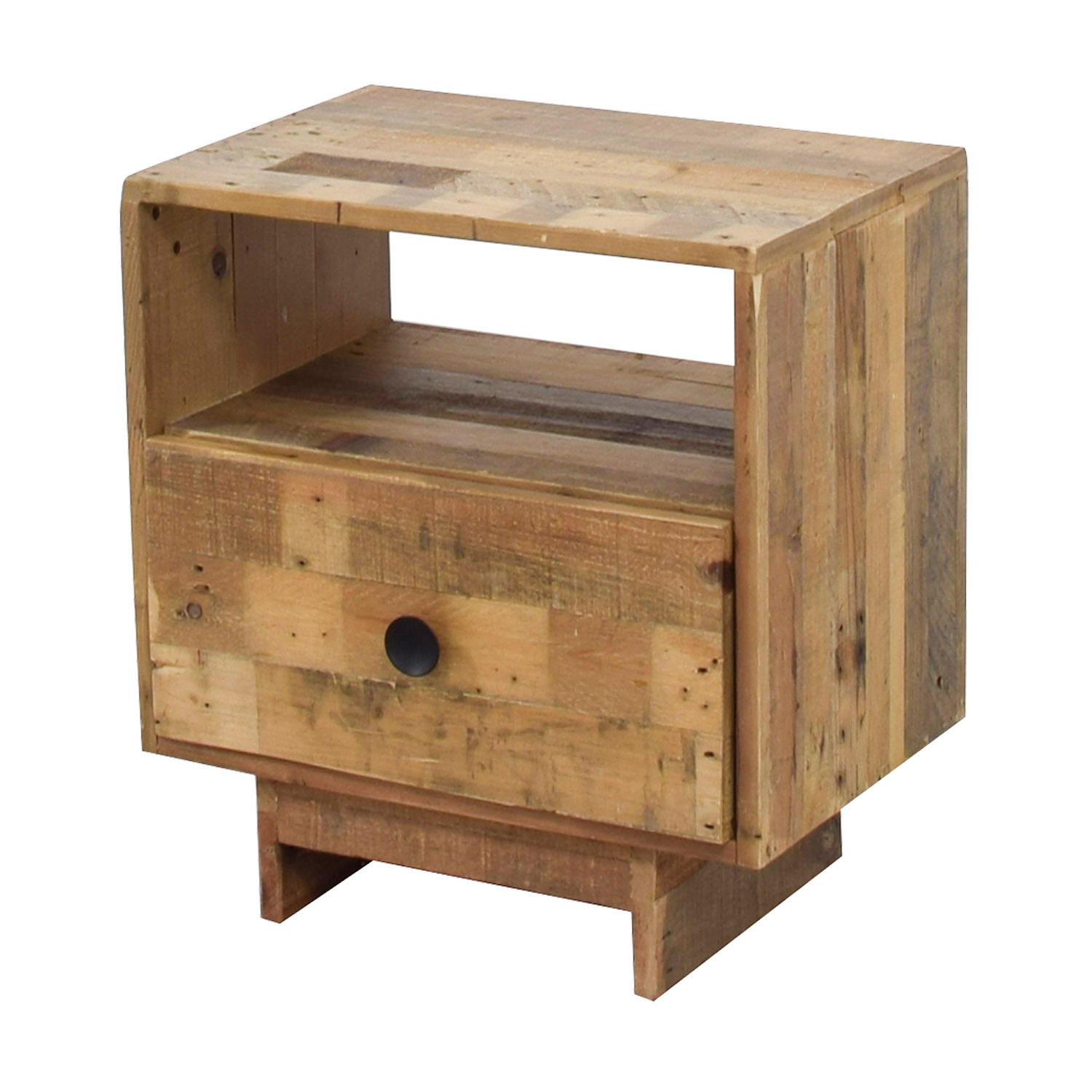 West Elm Emmerson Reclaimed Pine Nightstand / Tables