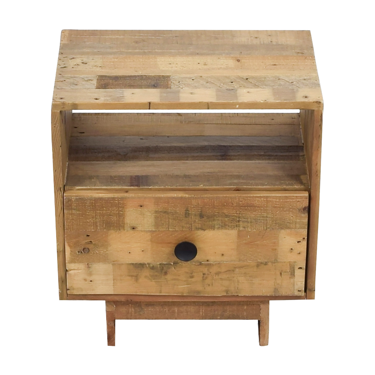 buy West Elm Emmerson Reclaimed Pine Nightstand West Elm