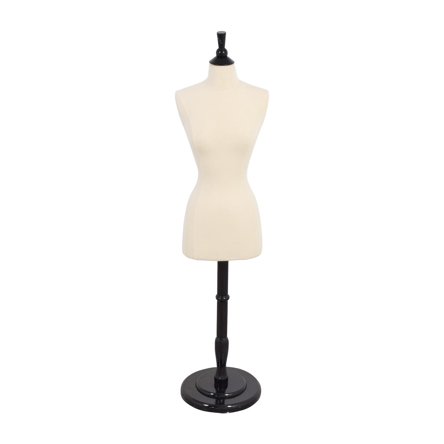 Dressform White and Black Mannequin dimensions