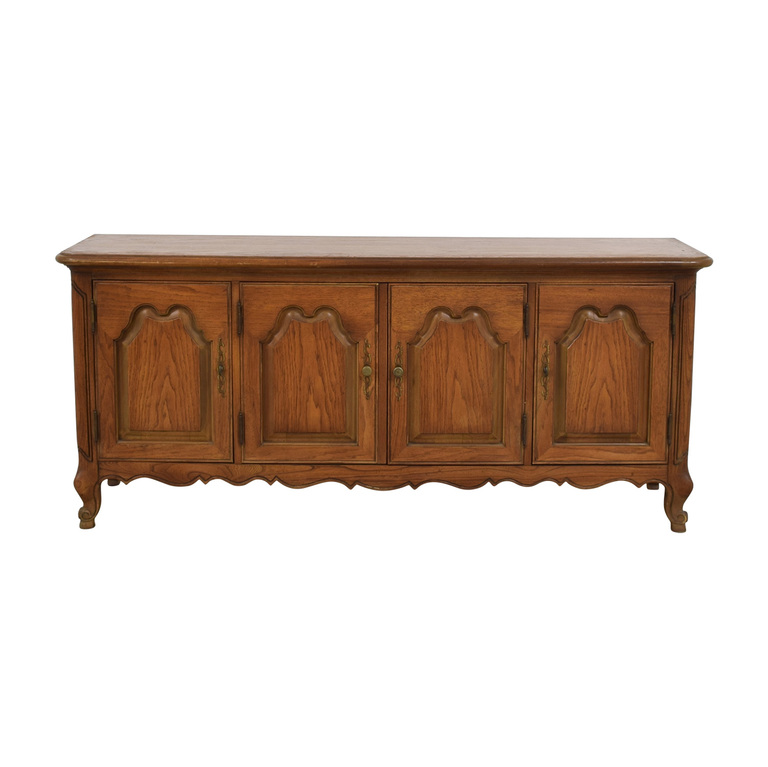 Mount Airy Wooden Credenza Mount Airy