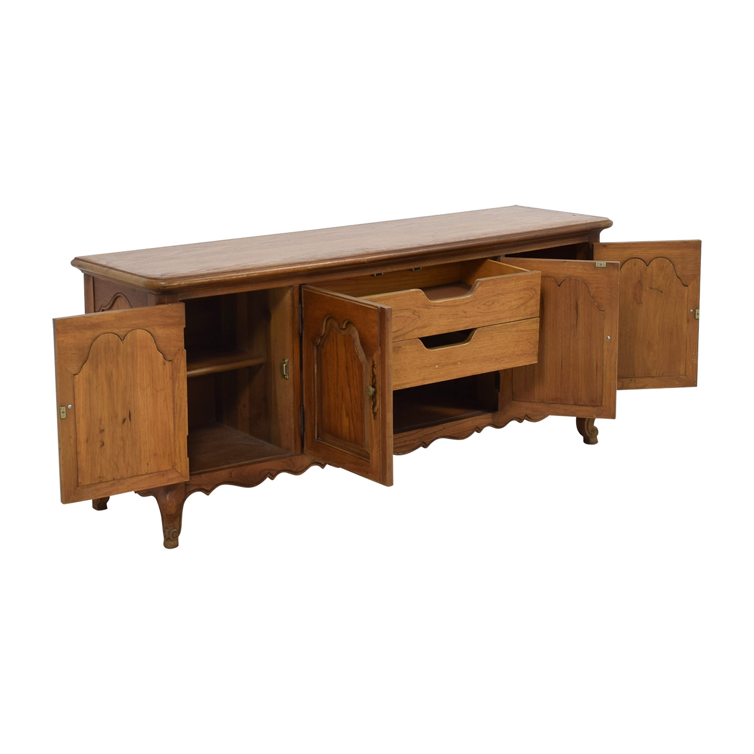 Mount Airy Mount Airy Wooden Credenza on sale