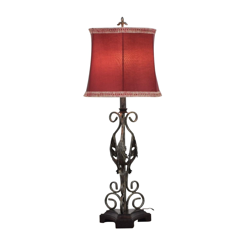 Amazon Amazon Metal Base Table Lamp nj