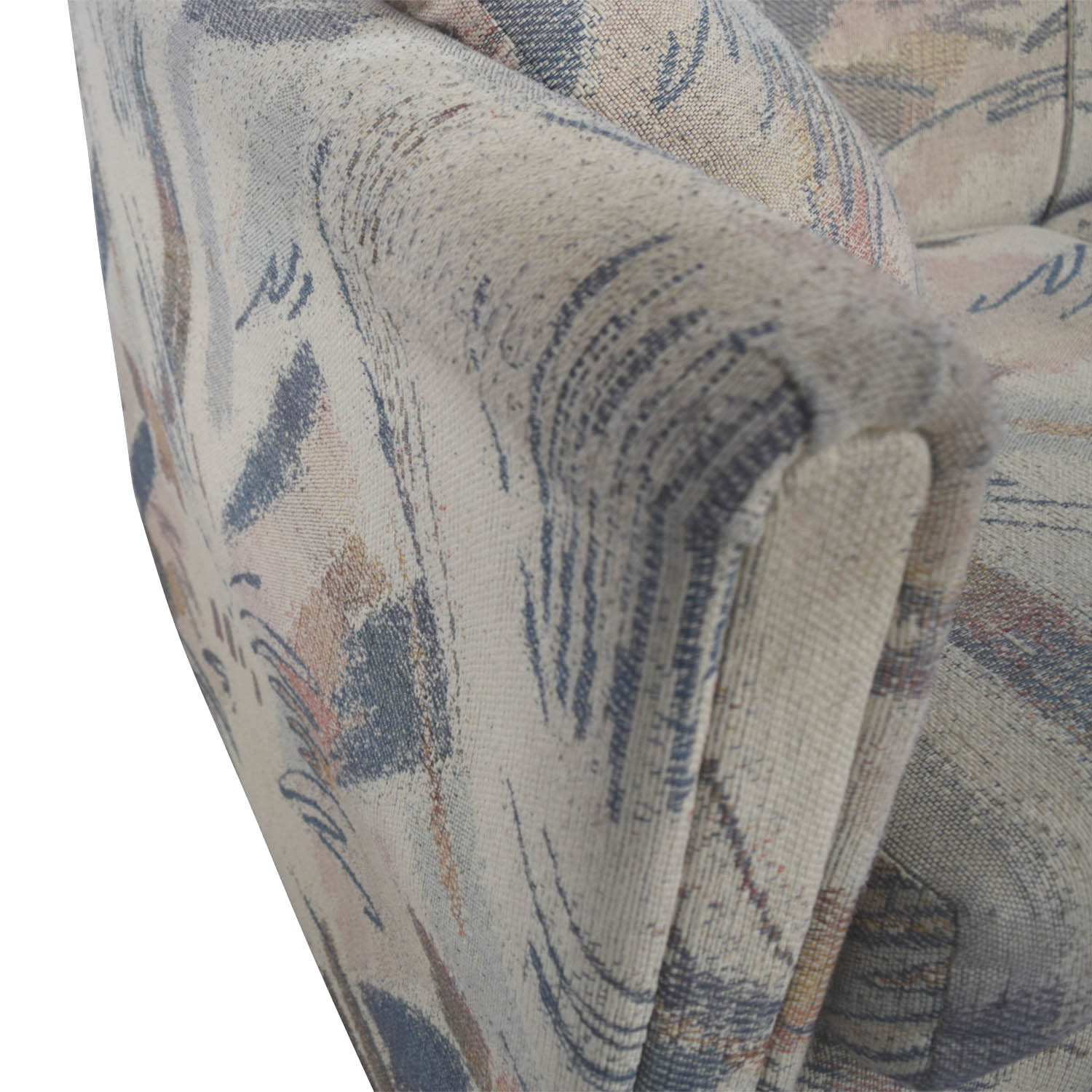 buy Raymour & Flanigan Raymour & Flanigan Multi-Colored Beige Loveseat online