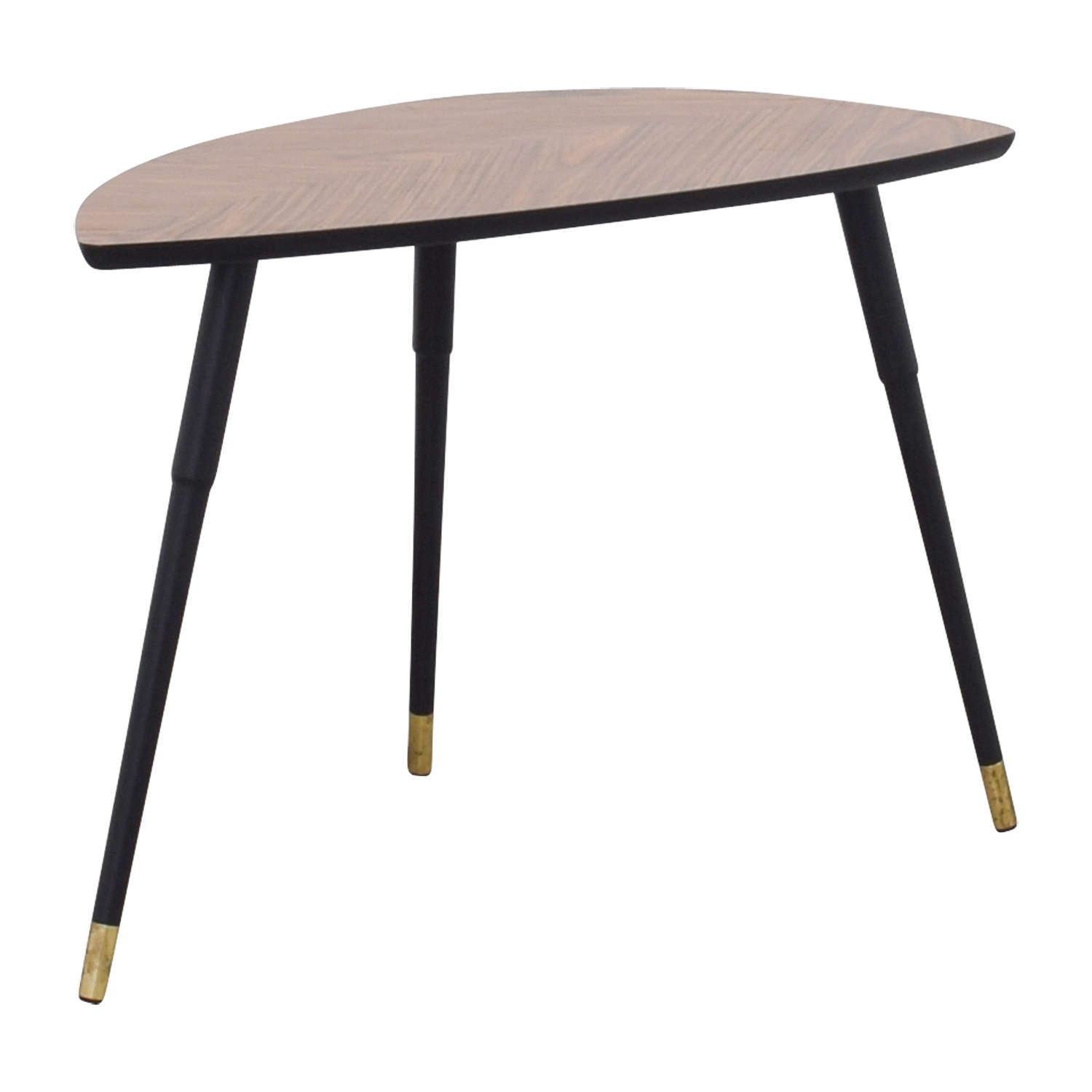 66 off ikea ikea triangular wood end table tables for Ikea end tables salon