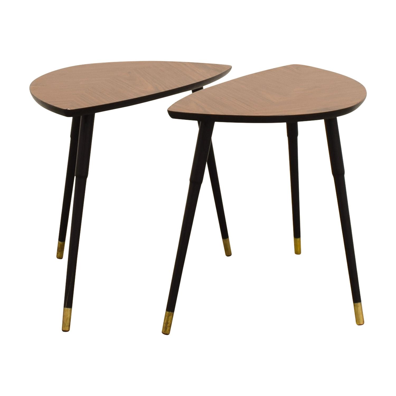 buy IKEA IKEA Triangular Wood End Tables online