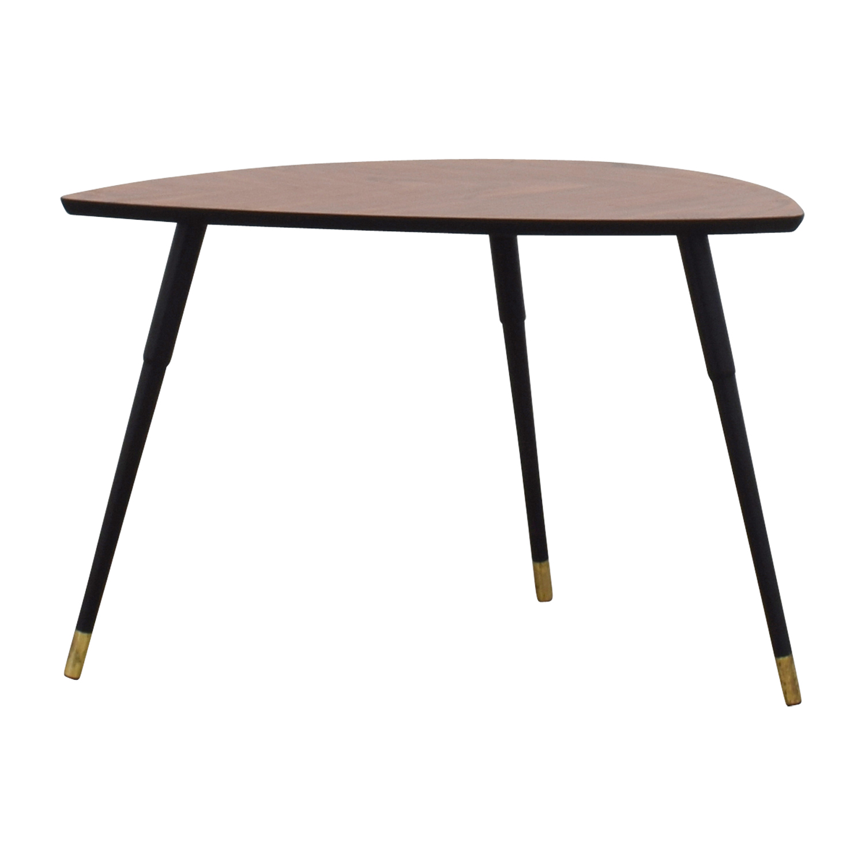 IKEA Triangular Wood End Table IKEA