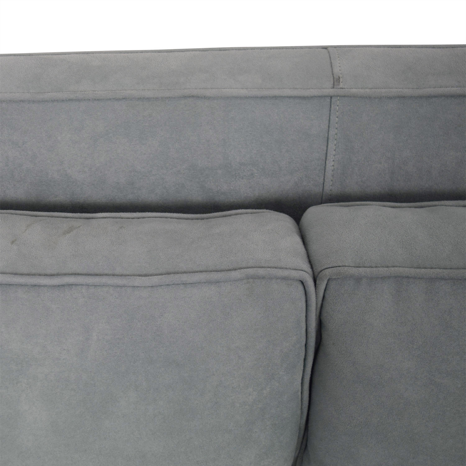 Crate & Barrel Crate & Barrel Rochelle Teal Sectional coupon