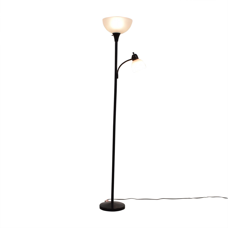 Two-Light Floor Lamp