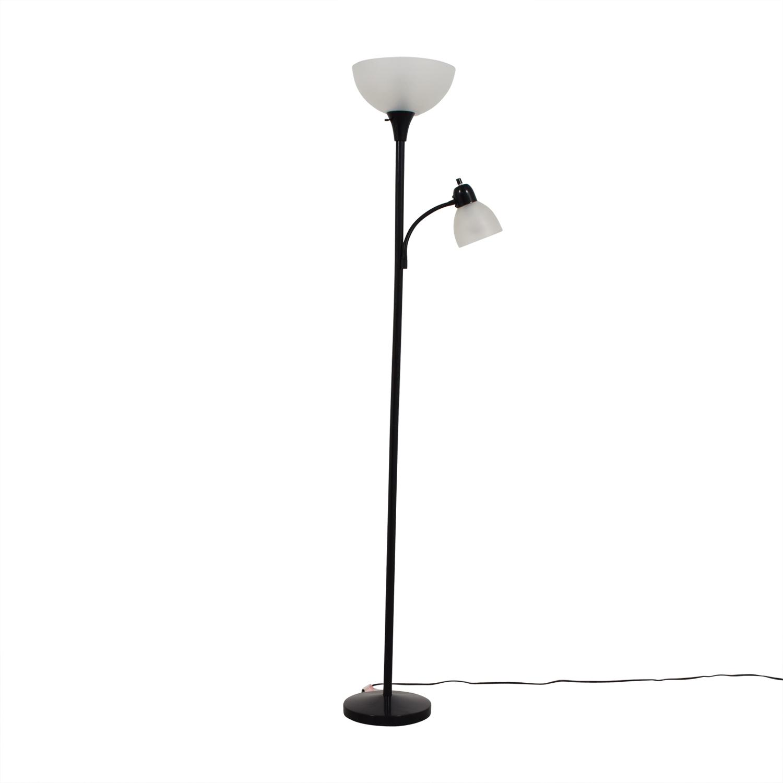 48 off pacific coast lighting pacific coast lighting menlo lane two light floor lamp second hand aloadofball Image collections