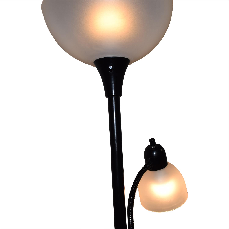 Two-Light Floor Lamp Decor