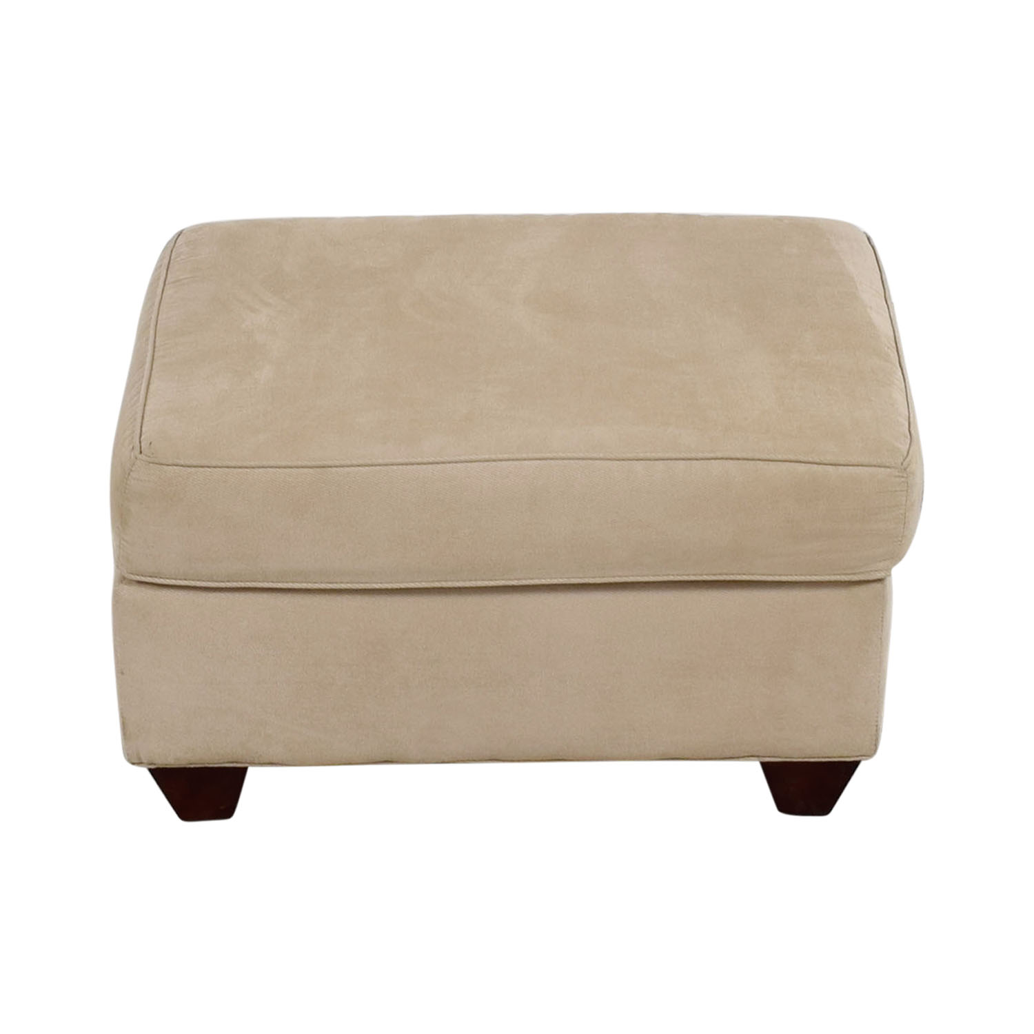 Raymour & Flanigan Raymour & Flanigan Neutral Ottoman on sale