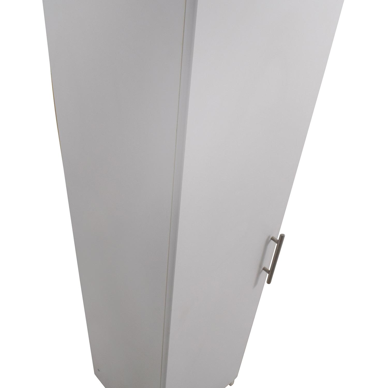 Narrow Wardrobe Shelving Unit / Storage