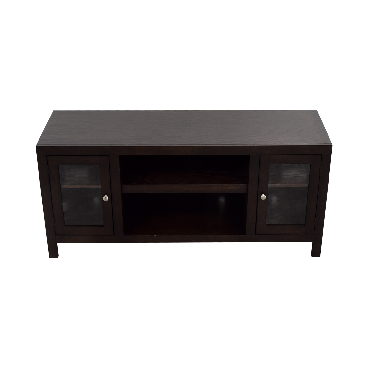 shop Raymour & Flanigan TV Console Raymour & Flanigan Storage