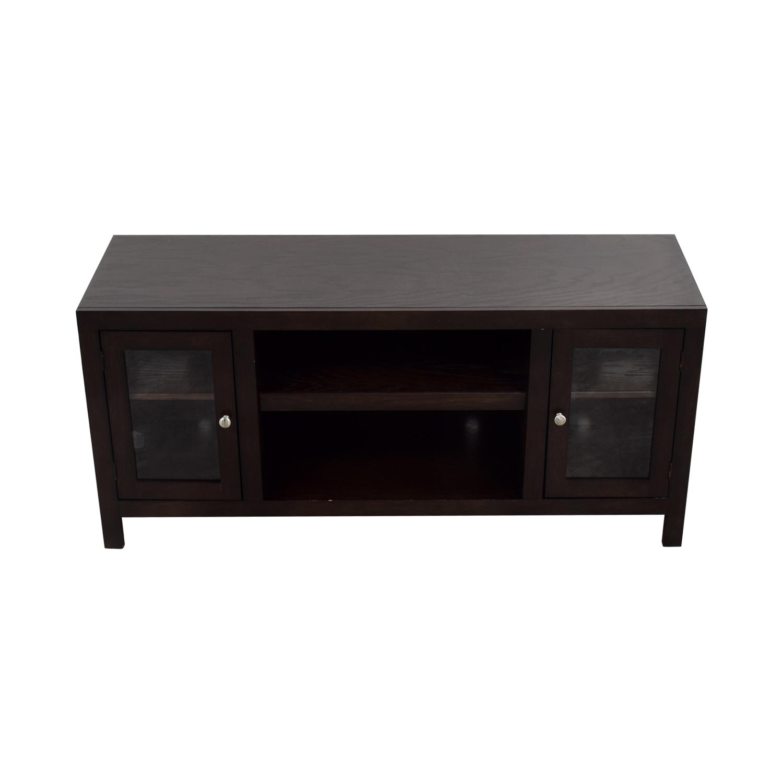 shop Raymour & Flanigan TV Console Raymour & Flanigan Storage