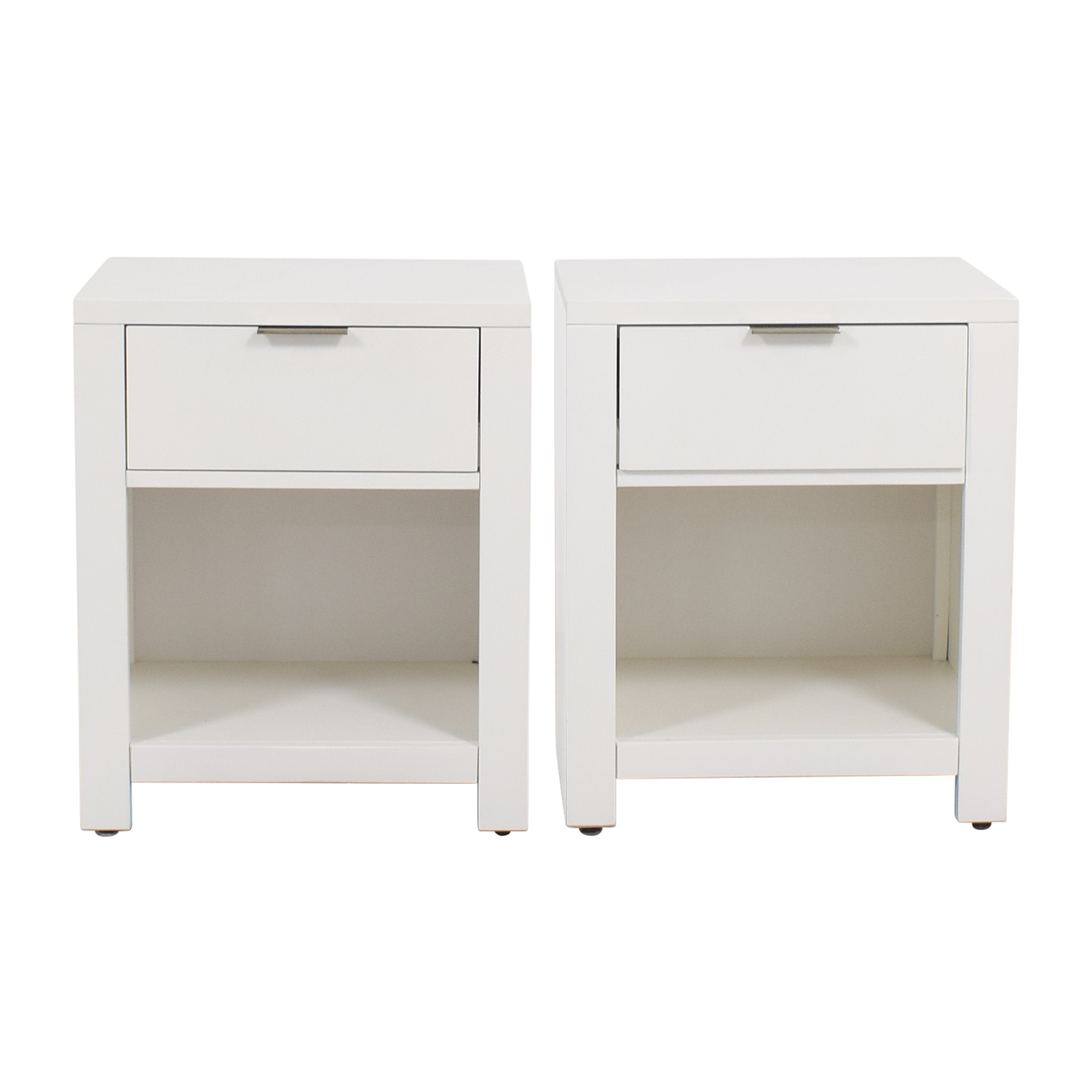 Macys Macys White Nightstands used
