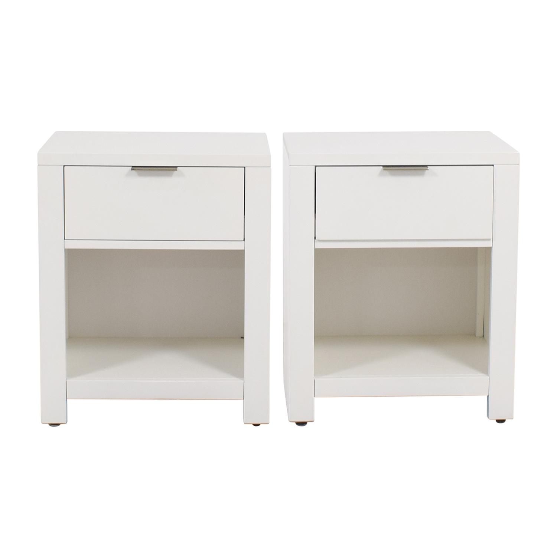 buy Macys White Nightstands Macys End Tables