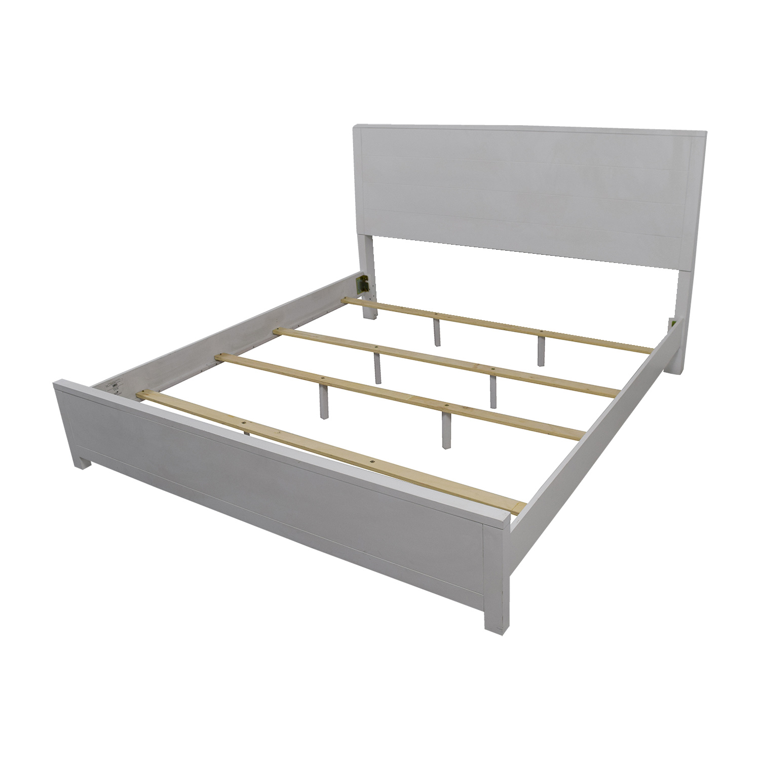 90 off macy s macy s white king bedframe beds 10236 | buy macys white king bedframe
