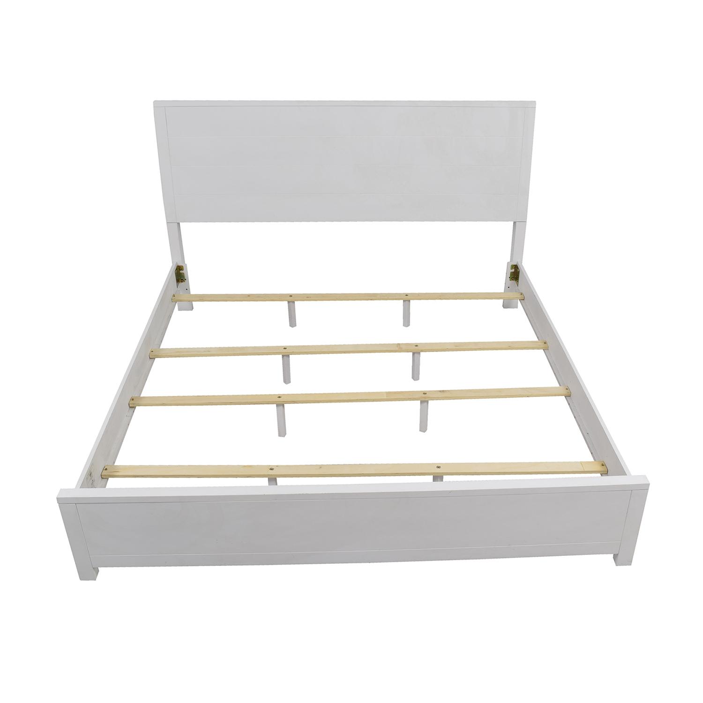 Macys Macys White King Bedframe Beds