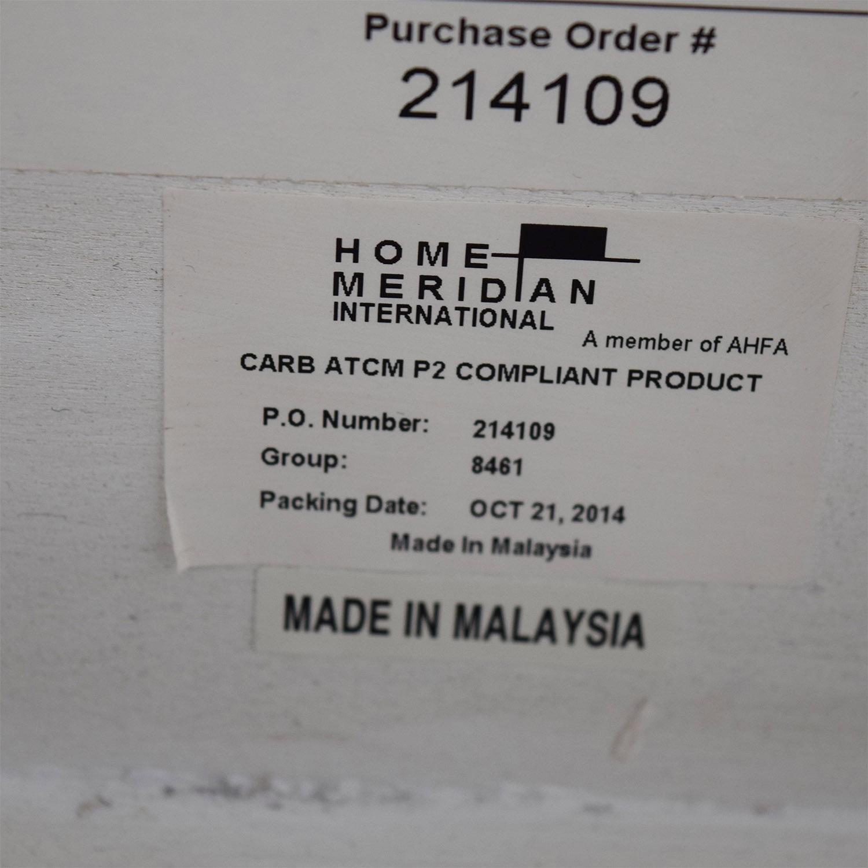 Macys Macys White King Bedframe used