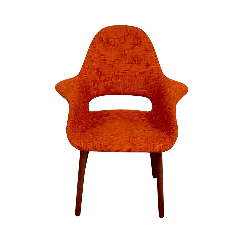 Artrio Orange Upholstered Armchair Artrio