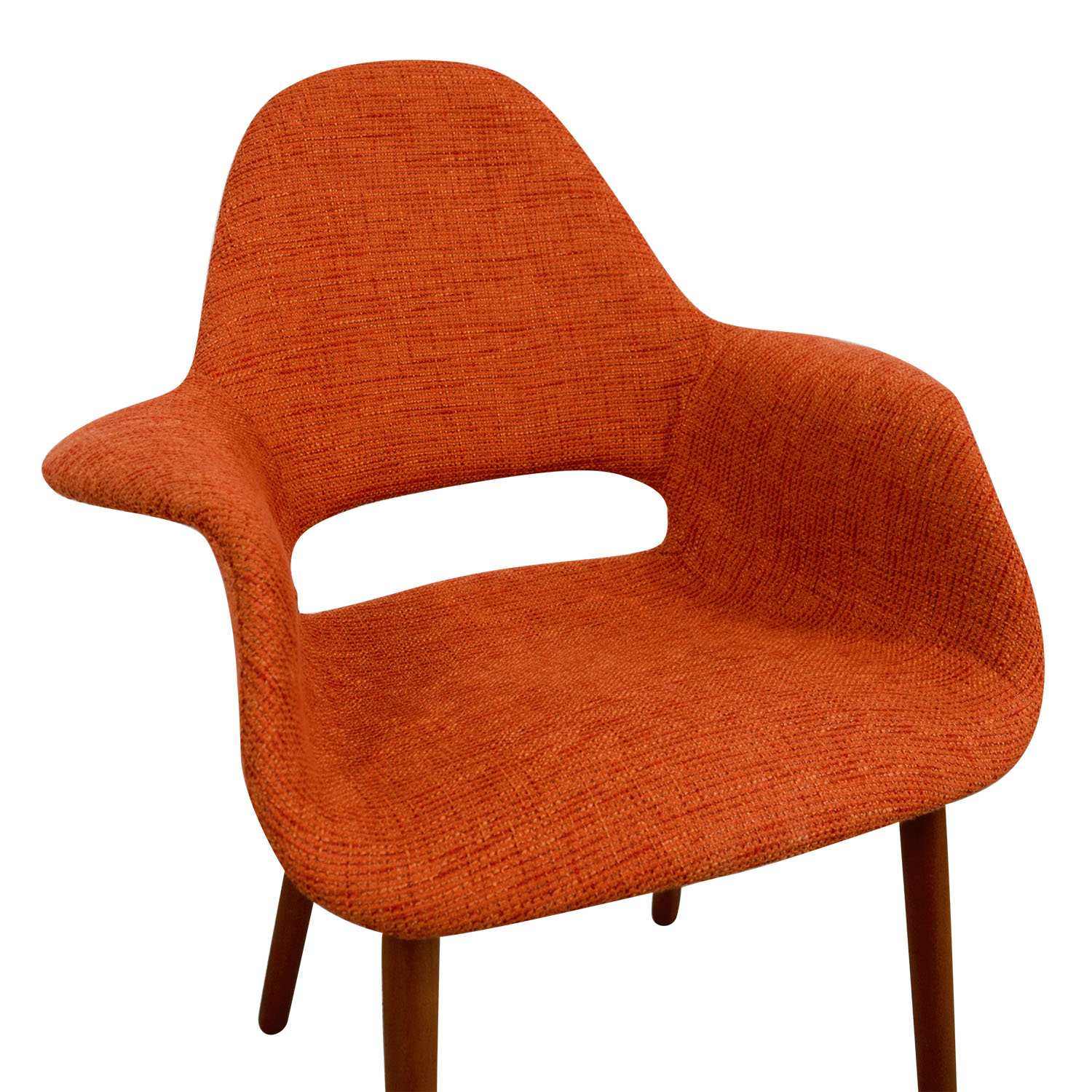 Artrio Artrio Orange Upholstered Armchair Accent Chairs