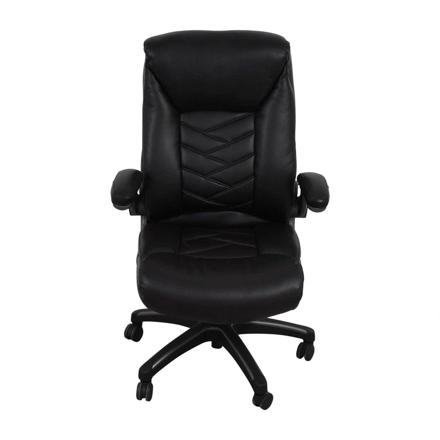 Black Leather Office Chair nyc