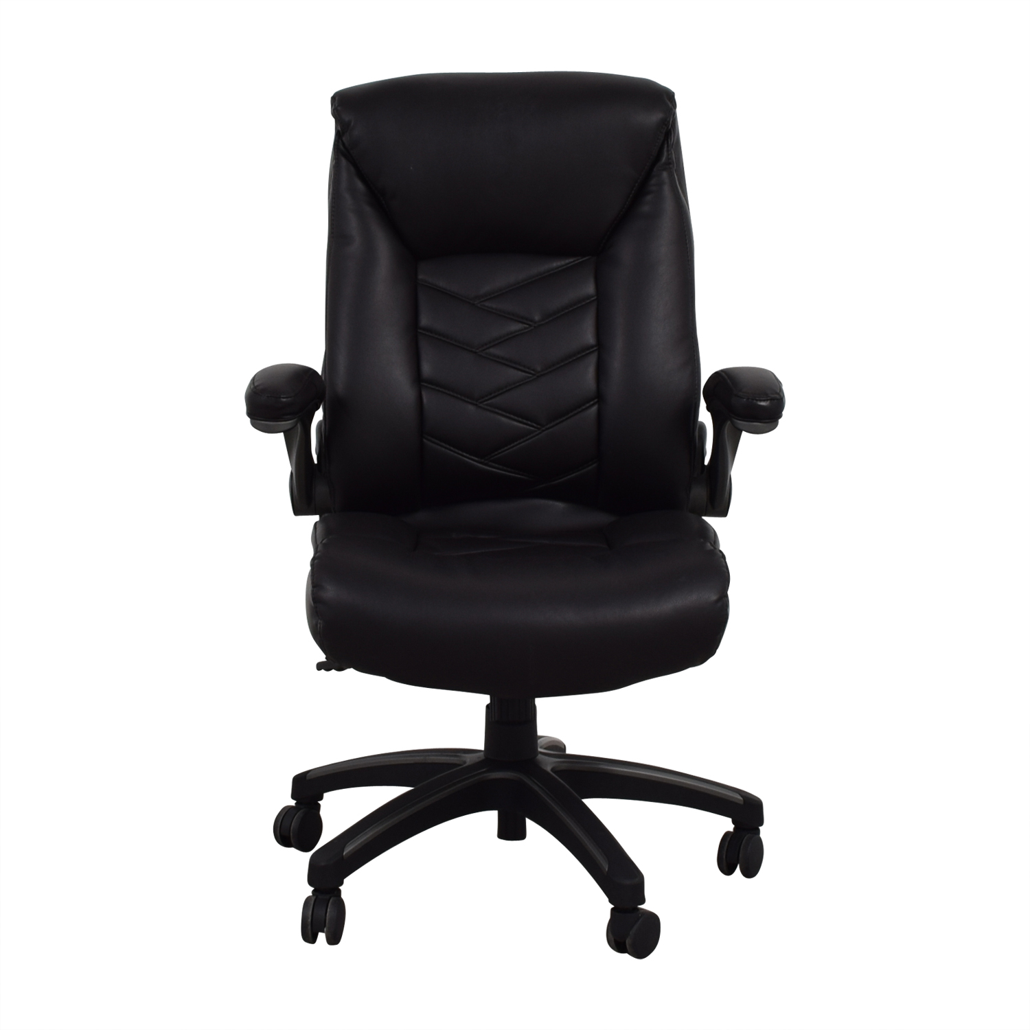 Black Leather Office Chair nj