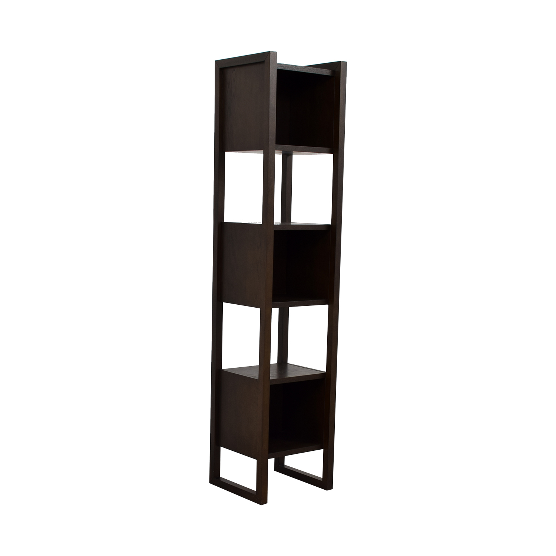 Cubed Wood Shelf Storage