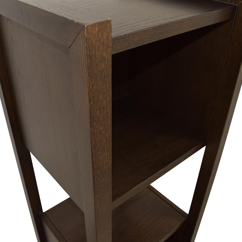 Cubed Wood Shelf on sale