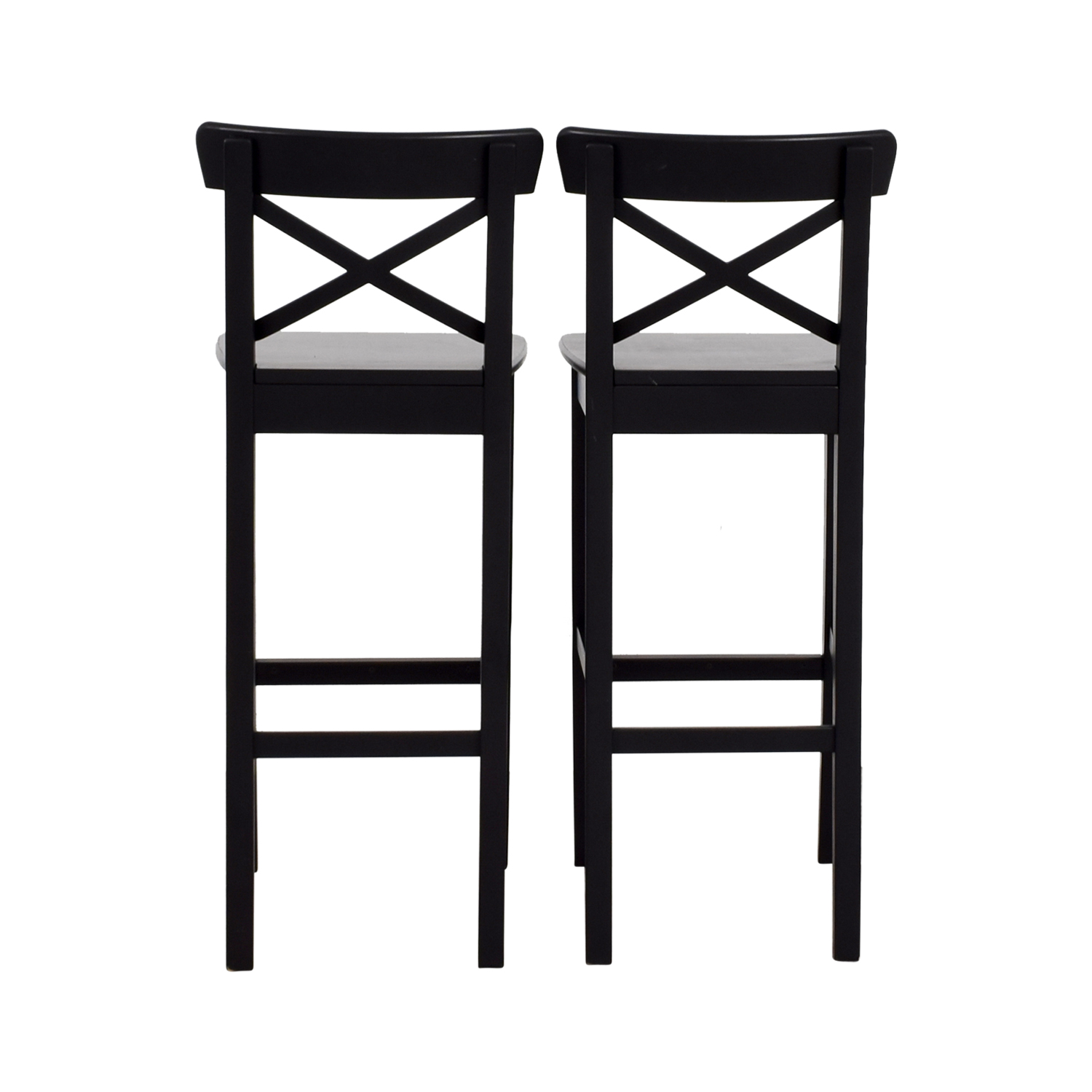 IKEA Wooden Barstool Chairs sale