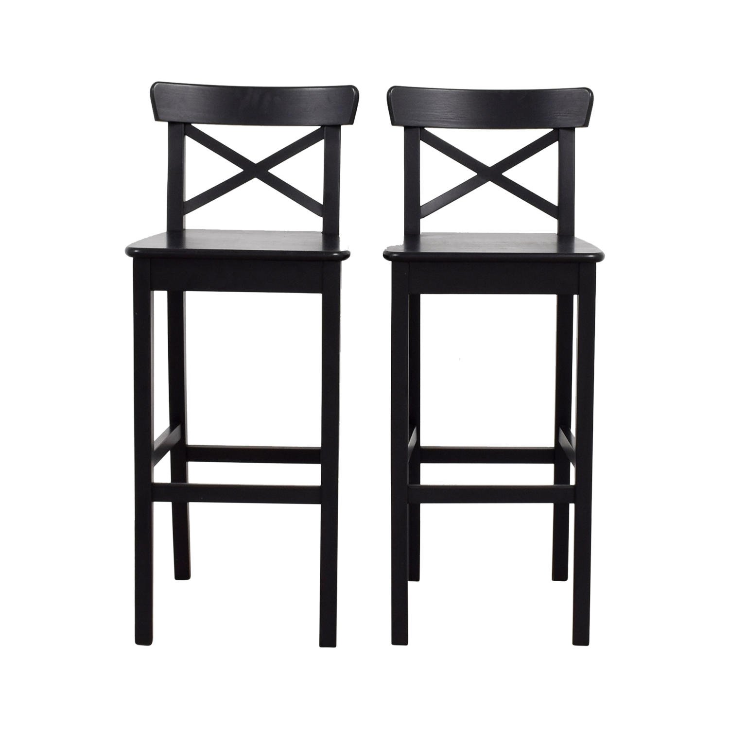 IKEA Wooden Barstool Chairs / Dining Chairs