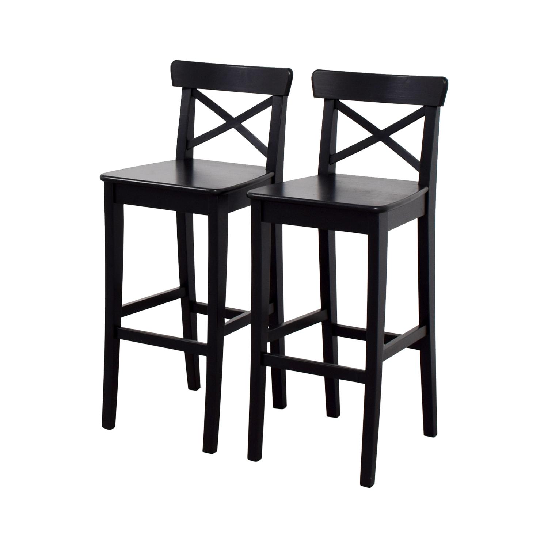 IKEA IKEA Wooden Barstool Chairs