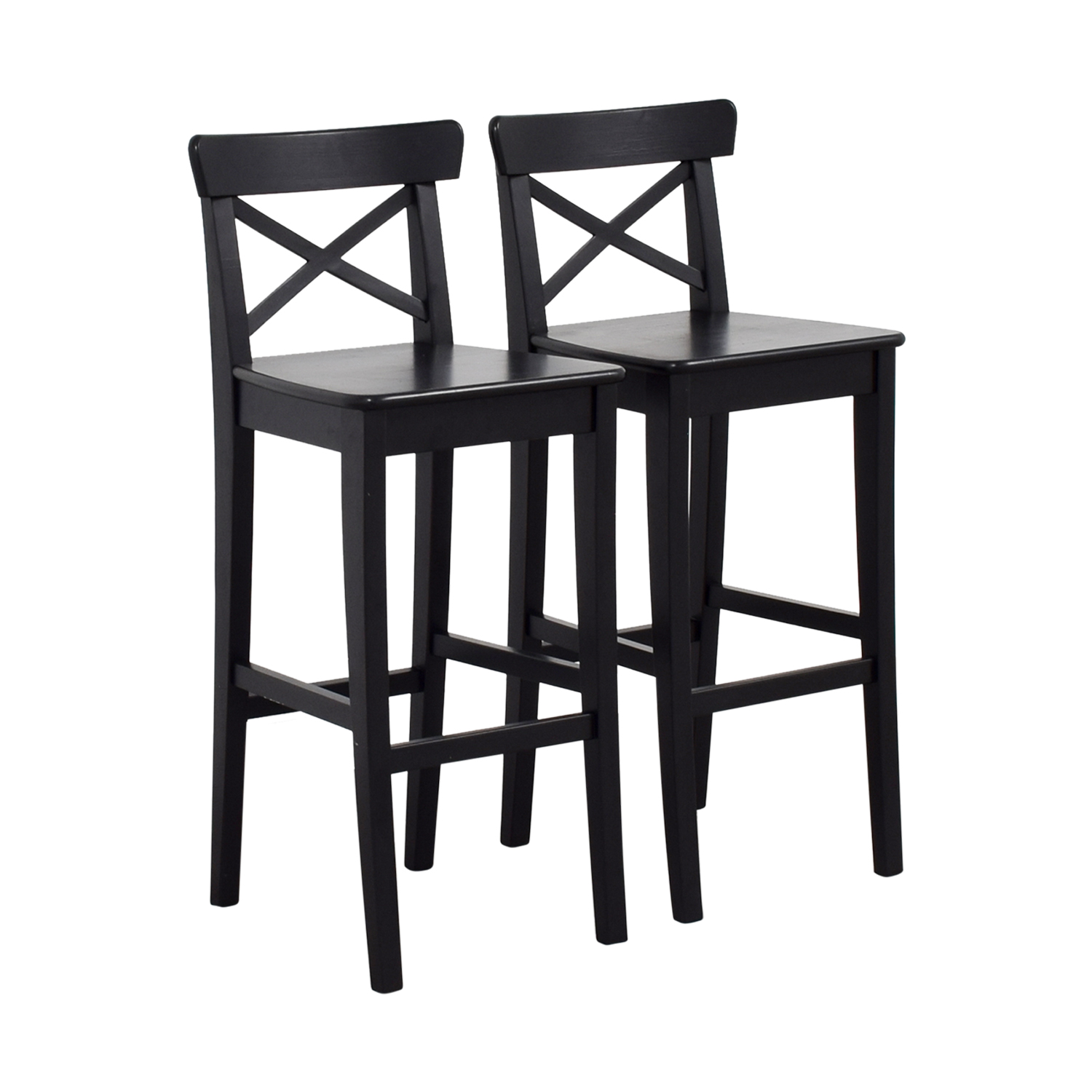 shop IKEA Wooden Barstool Chairs IKEA Dining Chairs