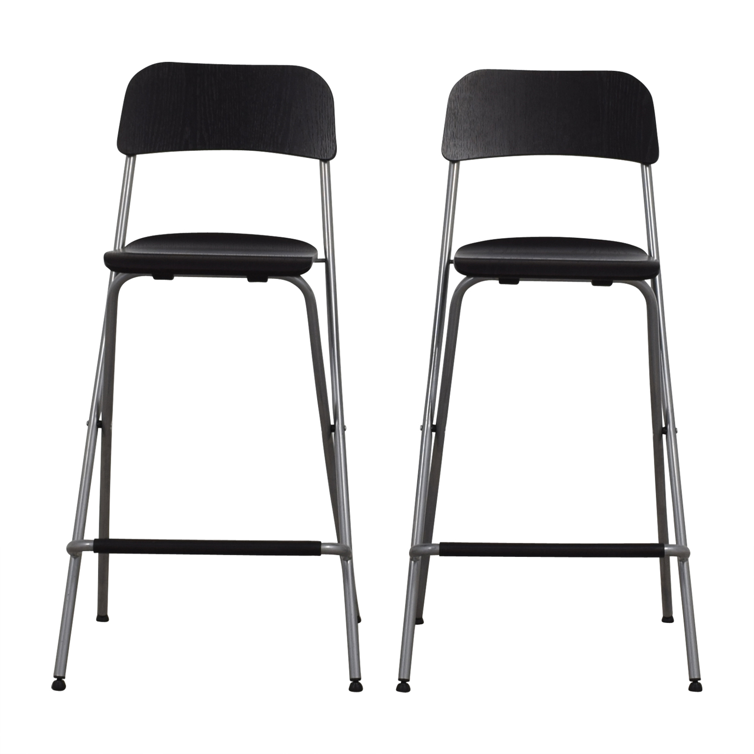 Superb 60 Off Ikea Foldable Barstool Chairs Chairs Gmtry Best Dining Table And Chair Ideas Images Gmtryco