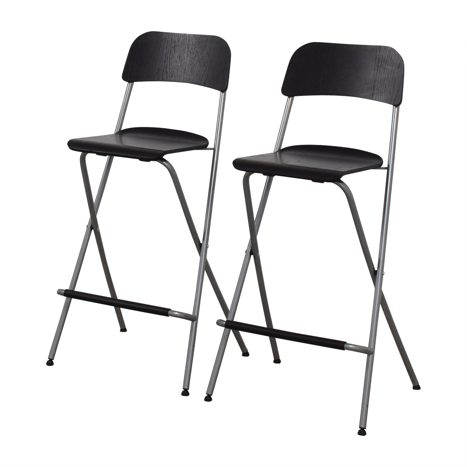 OFF IKEA Foldable Barstool Chairs Chairs