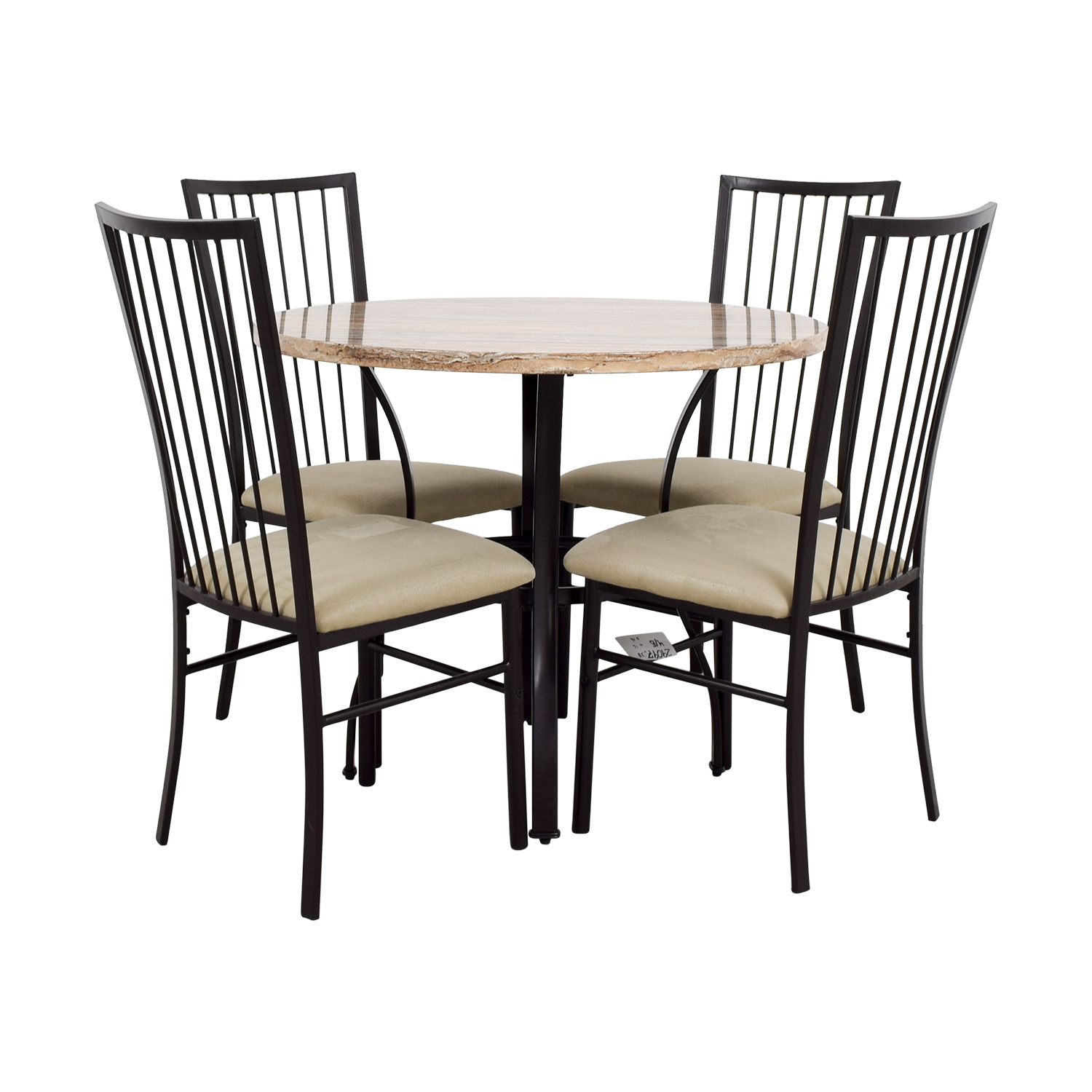 shop Wayfair Stone Dining Table Set Wayfair Tables