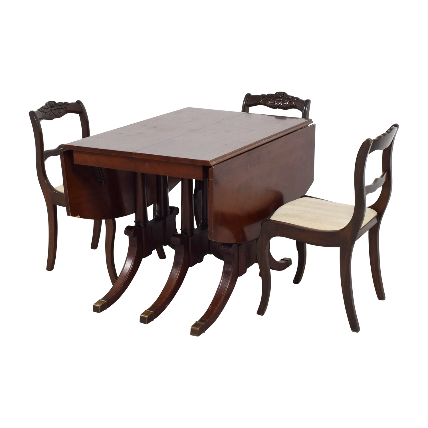 buy Extendable Folding Leaves Dining Set Tables