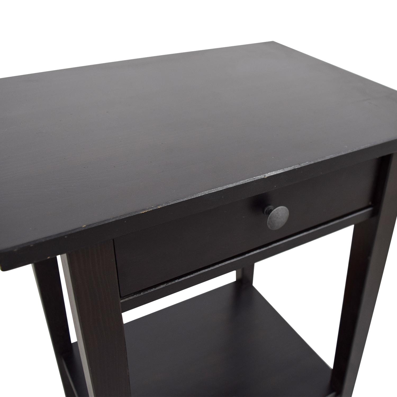 IKEA IKEA Brown Single-Drawer Nightstand for sale