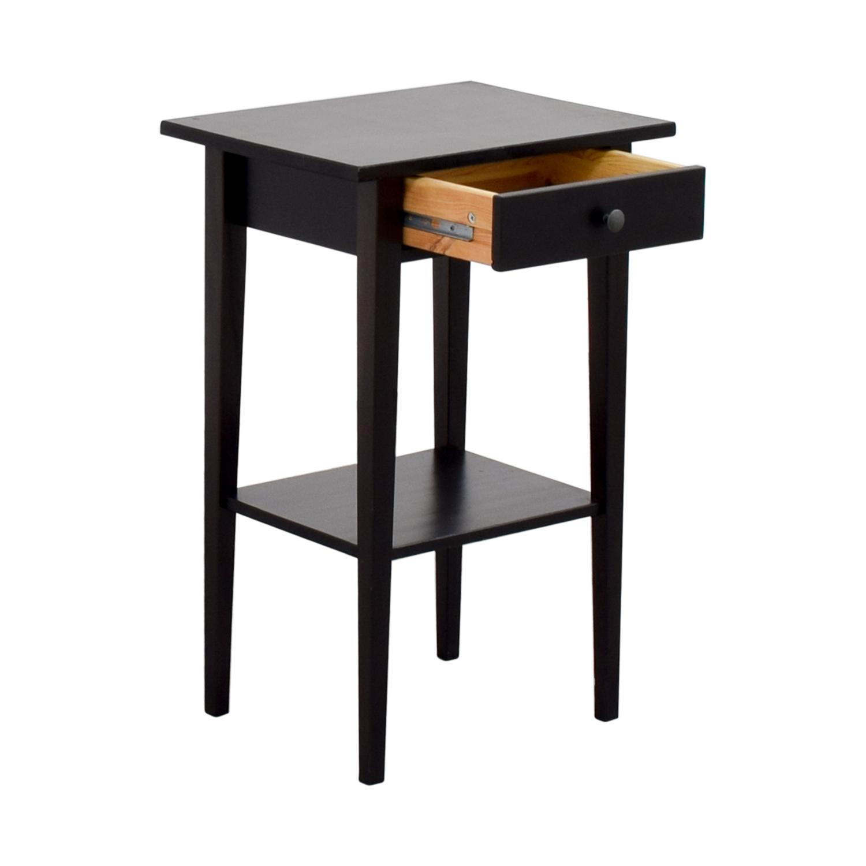 IKEA IKEA Brown Single-Drawer Nightstand used